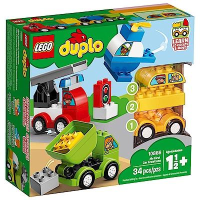 樂高LEGO Duplo 幼兒系列 - LT10886 我的第一套創意汽車組合