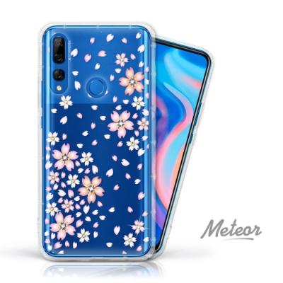 Meteor HUAWEI Y9 Prime 2019 奧地利水鑽殼 - 櫻花