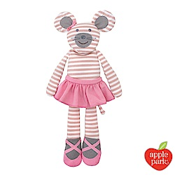 美國 Apple Park 農場好朋友系列 45公分大安撫玩偶 - 芭蕾鼠娘