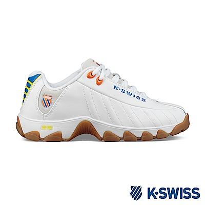 K-SWISS ST329 Heritage 老爹鞋-女-白/藍/橘