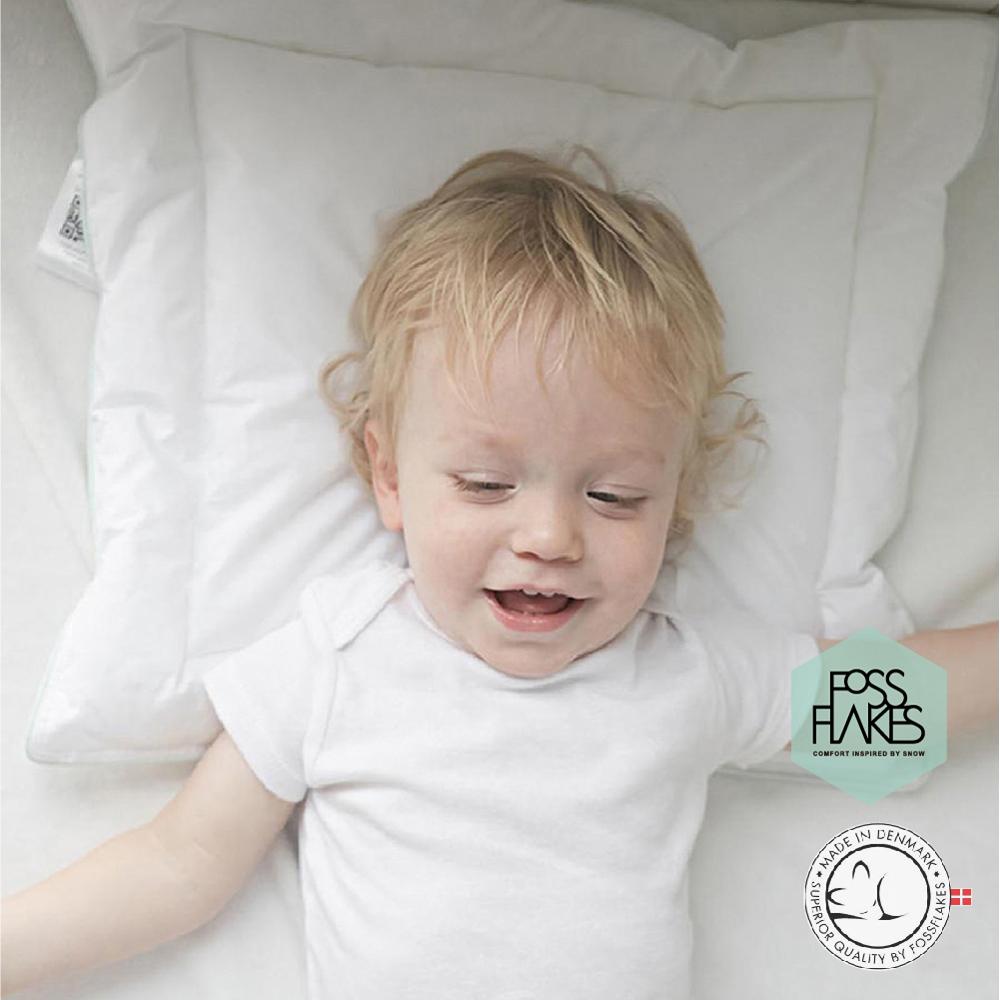 丹麥FOSSFLAKES防塵蟎優質嬰兒枕頭