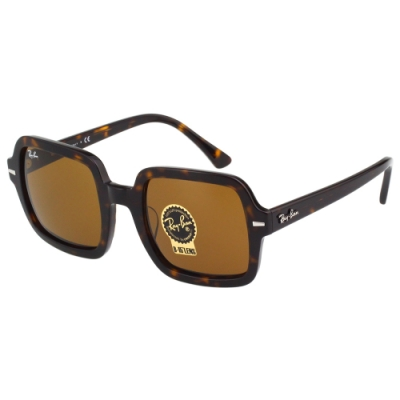 RAY BAN 方形 太陽眼鏡(琥珀色)RB2188F