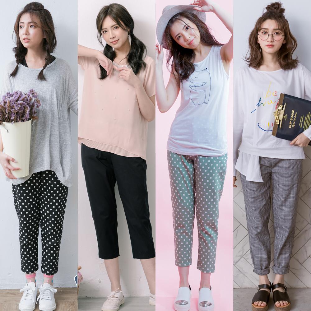 [時時樂限定] betty's貝蒂思 日系清新夏日褲裝4款 任選均一價555