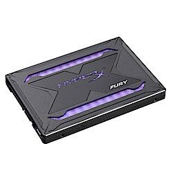 金士頓 Hyper Fury RGB 480GB SSD 固態硬碟