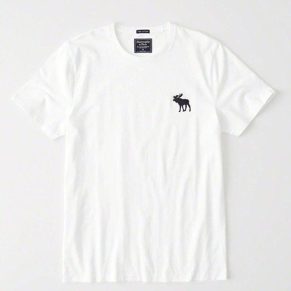 AF a&f Abercrombie & Fitch 短袖 T恤 白 0919