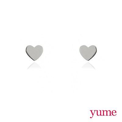 YUME - K金小愛心耳環