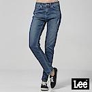Lee 中腰合身小直筒牛仔褲-中藍色洗水