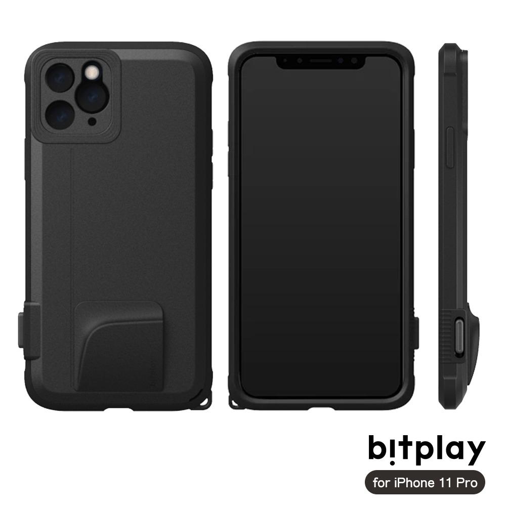 bitplay SNAP! iPhone 11 Pro 相機快門鍵全包覆軍規防摔相機殼-黑