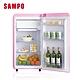 SAMPO聲寶 歐風美型 99L直冷單門小冰箱SR-C10(P) 粉彩紅 product thumbnail 2