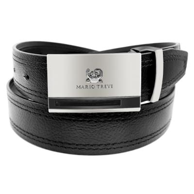 CH-BELT雙車線經典款型男紳士扣皮帶腰帶(黑)