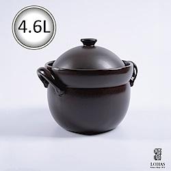 陸寶 洋風雙蓋陶鍋3號 4.6L