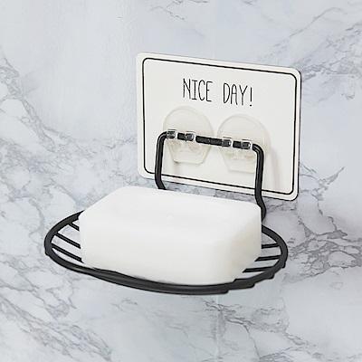 完美主義 肥皂架/烤漆/無痕貼-13.4X10X6cm