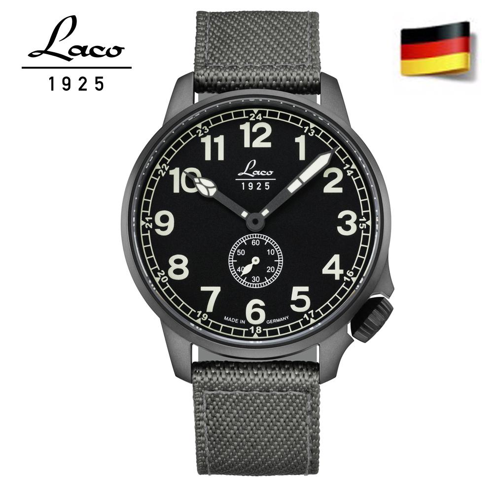 Laco 朗坤861908 德國工藝 JU自動機械錶 飛行錶 手錶 軍錶42mm