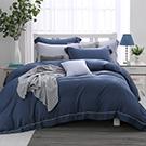 LASOL睡眠屋-100%奧地利天絲 特大兩用被床包四件組沉靜夜色