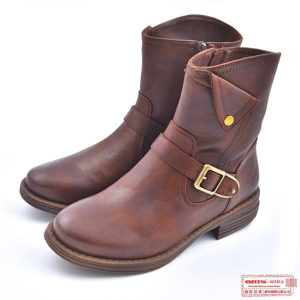 ORIS 女款 柔軟質感中筒靴 W8536N03
