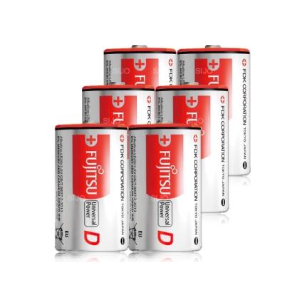 FUJITSU 日本富士通 1號鹼性電池(6顆入)