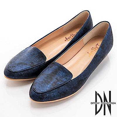 DN 悠遊漫步 MIT遨遊星空樂福鞋-藍