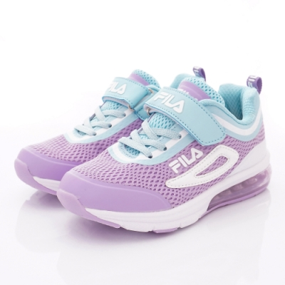FILA頂級童鞋 高機能支撐氣墊款 EI09T-931紫藍(中大童段)
