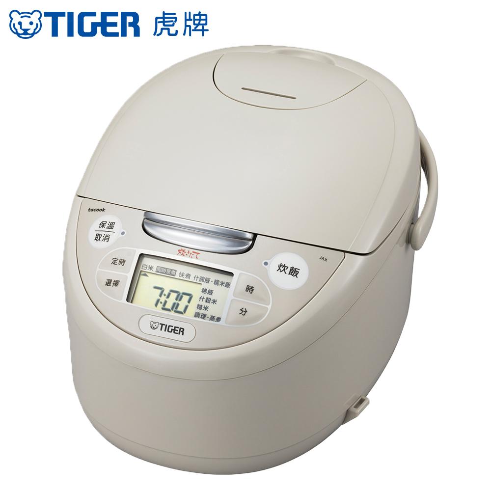 TIGER虎牌 日本製)10人份tacook微電腦炊飯電JAX-R18R