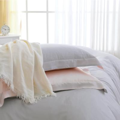 鴻宇 天絲枕套2入 天絲300織 歐式壓框枕套 克卜勒 台灣製