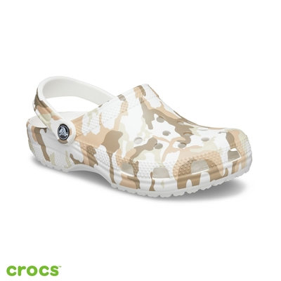Crocs卡駱馳 (中性鞋) 經典熱帶印花克駱格-206454-94S