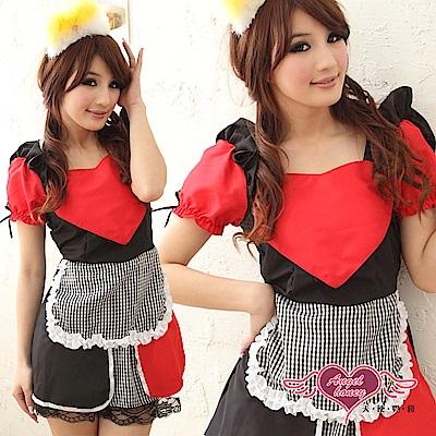 角色扮演 俏麗甜心 公主童話派對表演服(紅黑F) AngelHoney天使霓裳
