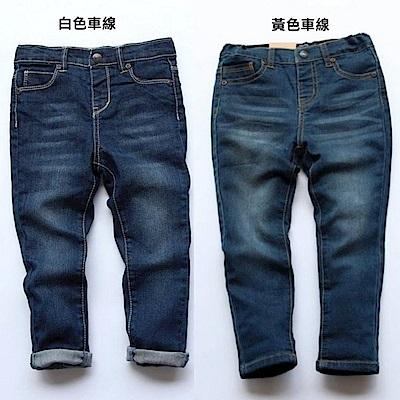 小衣衫童裝    中性款百搭完美版型純棉牛仔褲1050409