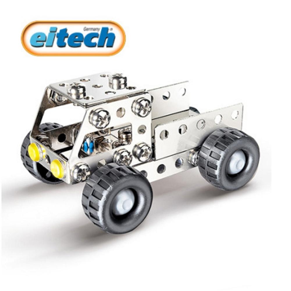 【德國eitec】益智鋼鐵玩具-迷你卡車(C58)