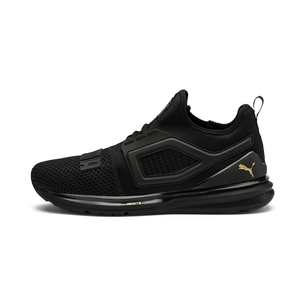 PUMA-IGNITE Limitless 2男女慢跑運動鞋-黑色