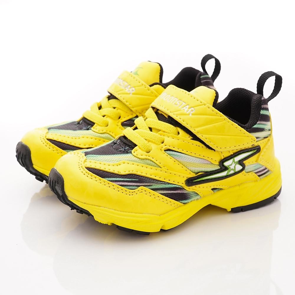 日本月星頂級童鞋 2E休閒運動鞋款 NI193黃(小童段)