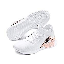 PUMA-Rogue Metallic Wn s女性慢跑鞋-白色