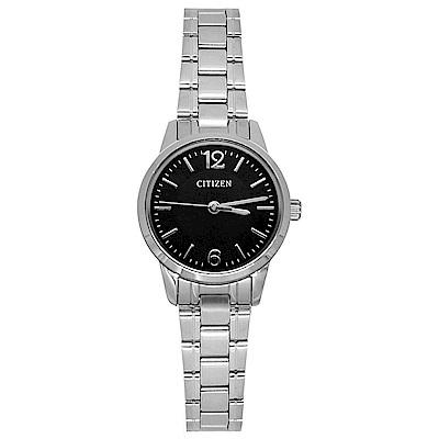 CITIZEN 都會女郎石英女錶(EJ6087-58E)-黑x25mm