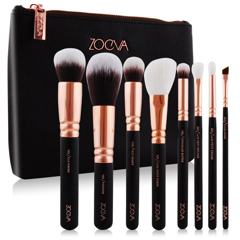 *ZOEVA 8支 奢華Luxury Set Vol. 1玫瑰金刷具組