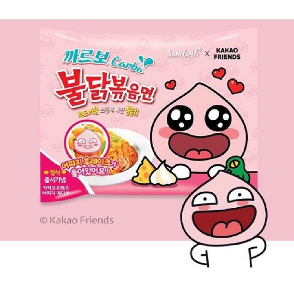 kakao Friends 粉紅辣雞奶油乾炒拉麵(130gx5包)