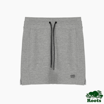 Roots 女裝- 城市悠遊系列短裙-灰色
