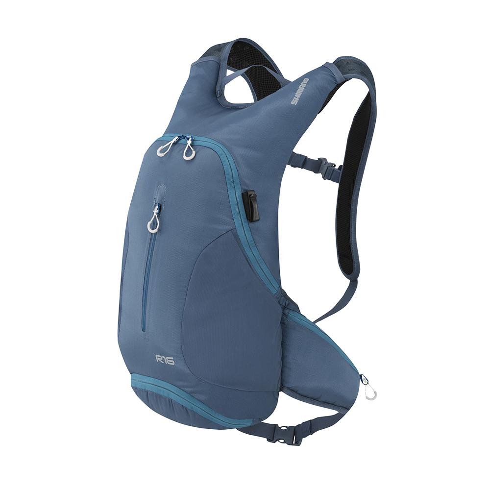【SHIMANO】ROKKO 16L 多功能背包 單寧深藍
