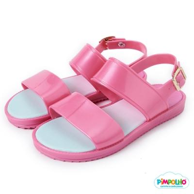 Pimpolho 果凍休閒涼鞋-童-粉紅
