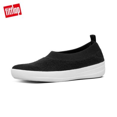 FitFlop COMFFKNIT BALLERINAS 娃娃鞋 黑色