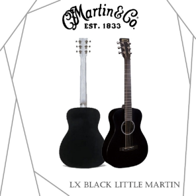 Martin LXBLACK木吉他/贈超值配件包