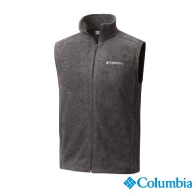Columbia 哥倫比亞 男款-Fleece刷毛背心-深灰UAE15350