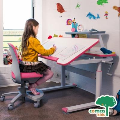 comta kids_HANDY漢迪探險兒童成長學習桌‧幅120cm(粉紅) W120*D74.5*H51~74 cm