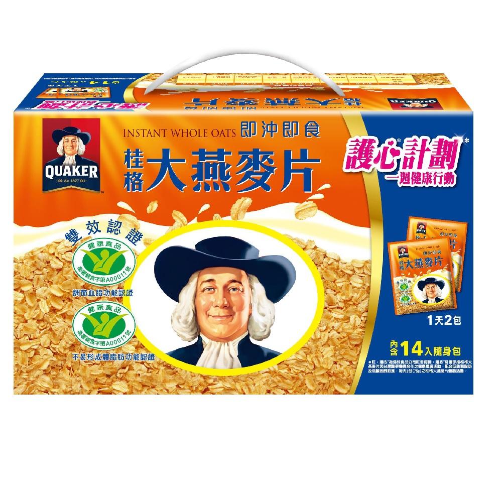 桂格 大燕麥片隨身包(37.5gx14入)