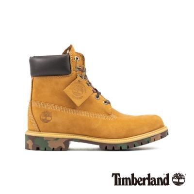 Timberland 男款小麥黃色保暖6吋靴|6717B