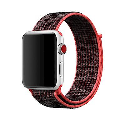 APPLE原廠公司貨Bright Crimson配黑色Nike運動型錶環
