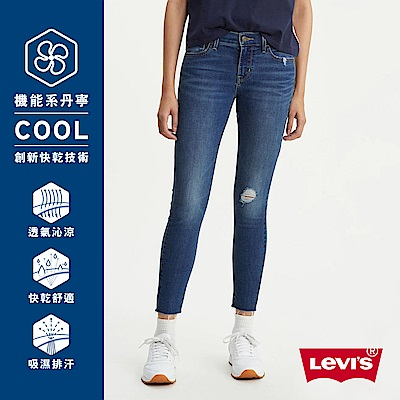 Levis 女款 710 中腰超緊身窄管 超彈力牛仔褲Cool Jeans
