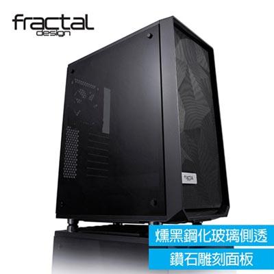 【Fractal Design Meshify C - Dark TG 燻黑鋼化玻璃透側電腦機殼