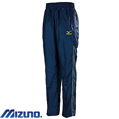 MIZUNO 美津濃 男風衣套裝褲子 靛藍X單寧 32TF758813