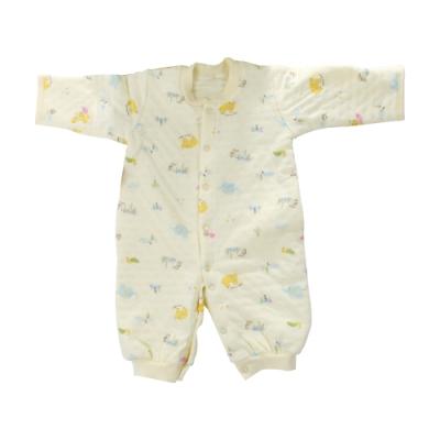 台灣製三層棉厚純棉護手兩用兔衣 b0231 魔法Baby