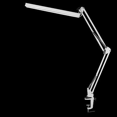 WASHAMl-懸臂式閱讀工作燈(LED段觸控)夾式