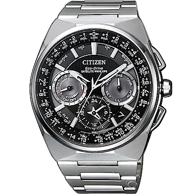 CITIZEN 光動能鈦金屬衛GPS星對時腕錶(CC9009-81E)48mm